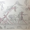 """""""Homo Sapiens?"""" (graphite on paper) by Margot Collins"""