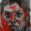 """Rheanna 1"" (acrylic) by William Stoehr"
