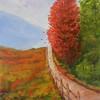 """Autumn in the Smokies"" (acrylic) by Joy Parks Coats"