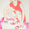 """Lust"" (marker, ink) by Militsa Mrvalevich"