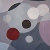 """Molecule"" (acrylic) by Eugenie Кuzikevich"