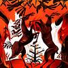 """Siberian Fires"" (digital) by Anatoly Safonov"
