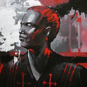 """""""Provider"""" (acrylic on canvas) by Anastasia Gorbaneva"""