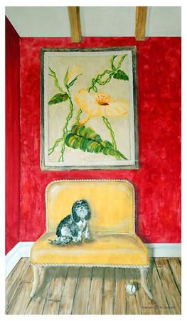 """""""Waiting For You"""" (acrylic on canvas) by NL Galbraith"""