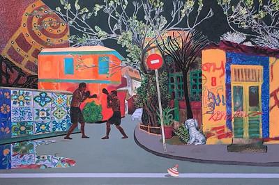"""""""8"""" (acrylic on canvas) by Tatiana Androsenko"""