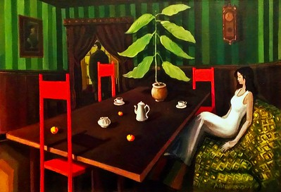 """Desolation (rus. Опустошение)"" (oil on canvas) by Aleksandr Gilyarevskiy"