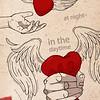 """Native heart"" (graphic design) by Nataliya Gudimchik"