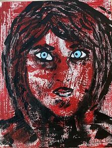 """Today-Tomorrow"" (acrylic on canvas) by Debraida Anselmi"
