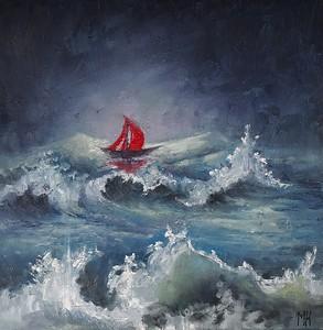 """Dream"" (oil) by Margarita Kamalova"