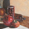 """Red Bell"" (oil) by Jennifer Gano"