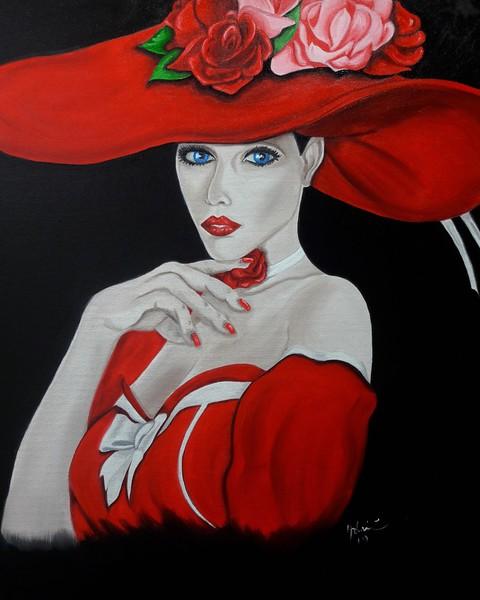"""""""Distinct"""" (oil) by Adriana Calichio"""