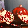"""Sooo... delicious-want some?"" (acrylic) by Vasu Tolia"
