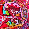 """LOYL"" (oil on canvas) by Sara Gately"