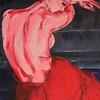 """""""Ballerina"""" (oil) by Anna Tuhvatullina"""