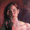 """Passionate"" (oil) by Michelle Lohr"