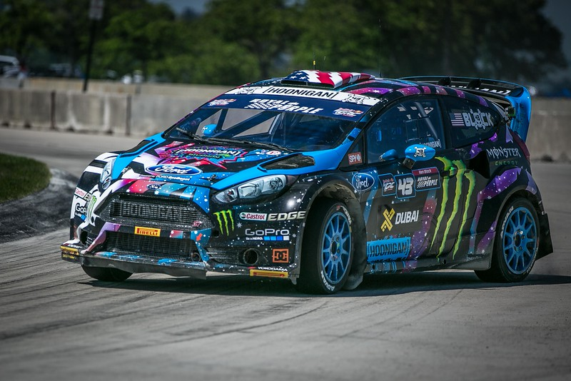 Red Bull GRC Detroit 2015: Ken Block