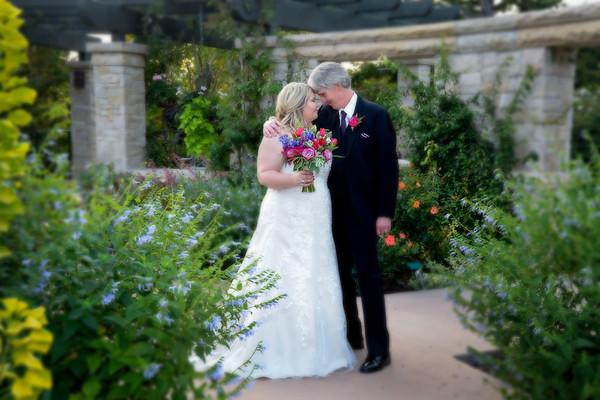Red Butte summer wedding
