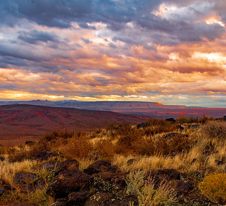 Sunset From Brokem Mesa