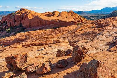 Rocks on Etched Sandstone