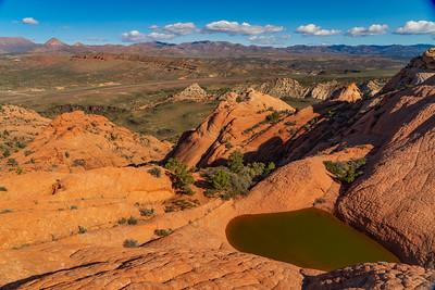Sculpted Sandstone in Red Cliffs Desert Reserve