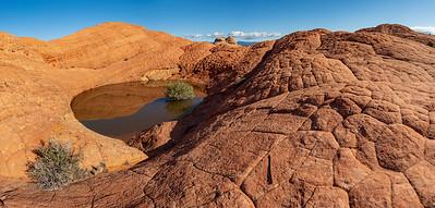 Etched Sandstone in Red Cliffs Desert Reserve