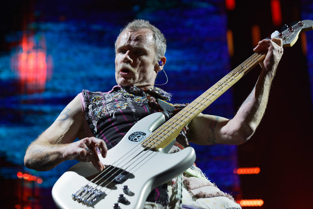 . Red Hot Chili Peppers live at Joe Louis Arena in Detroit on 2-2-2017, photo credit: Ken Settle