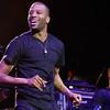 Trombone Shorty & Orleans Avenue  live at DTE Music Theatre on 7-18-2016. Photo credit: Ken Settle