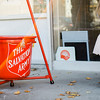 The Salvation Army held their Red Kettle Kickoff in Fitchburg on Saturday morning. SENTINEL & ENTERPRISE / Ashley Green
