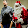 Santa visits with kids during the Red Kettle Kickoff at the Salvation Army in Fitchburg on Saturday morning. SENTINEL & ENTERPRISE / Ashley Green