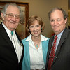 Don Miller, Nancy Victory, and Justice Jeffrey P. Victory.