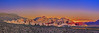 """""""Red Rock Twilight over Vegas,"""" Red Rock Canyon National Conversation Area"""