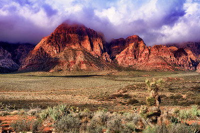 Red Rock Canyon Clouds