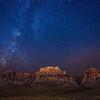 Red Rock Milky Way
