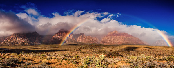 Red Rock Canyon Rainbow