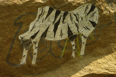 This Cave Painting is the type of Graffiti I can get around.