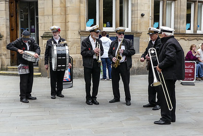 Red Rose Band playing at Lancaster for Armed Forces Day 2016