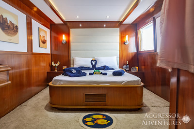 Red Sea Aggressor II, Upper Deck Master Stateroom #2