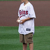 Very serious look on this youngster before his first pitch.
