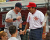 Sean Casey chats up Johnny.