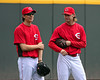 "Homer Bailey: ""I'm feeling pretty good about my start tomorrow!"" Bronson Arroyo: ""I know these guys. You're toast."""