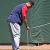 Papelbon was actually trying to help, positioning the devices within range of balls.