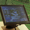 Pitch selection software for the pitching machine.