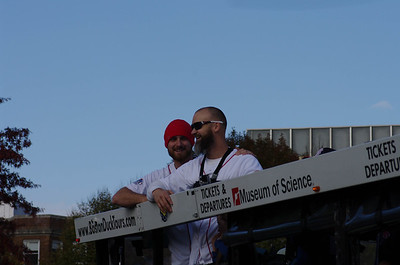 Red Sox Rolling Rally 2013 - Ross and Middlebrooks