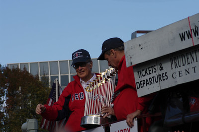 Red Sox Rolling Rally 2013 - John Henry and Larry Luchino