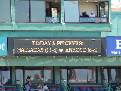 Red Sox, July 3, 2005