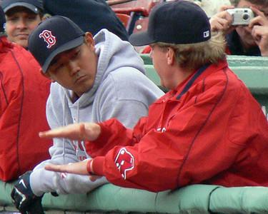 Red Sox, April 16, 2007