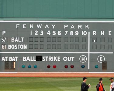 Red Sox, September 1, 2007