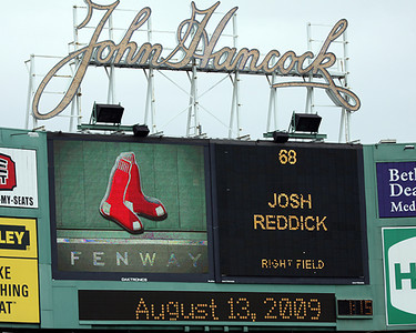 Red Sox, August 13, 2009
