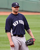 I don't think I've ever taken such a glum shot of Nick Swisher.