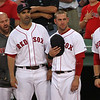 I don't recall the National Anthem being painful that night, so I have no idea what's going on here. Maybe Wally farted?